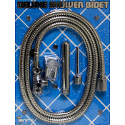 Deluxe Shower Bidet Chrome