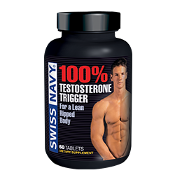 Swiss Navy 100% Testosterone Trigger 60ct Tabs