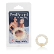 Pearl Beaded Prolong Ring White